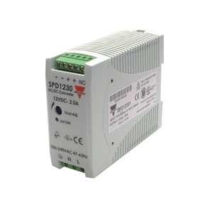Fuente alimentación carril DIN 12 VDC, 30W, 2´5A, SPC12301