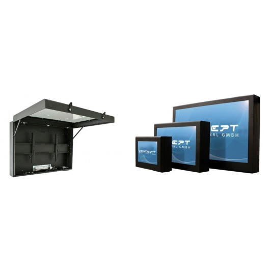 Outdoor Enclosure for Displays, PBI55-L