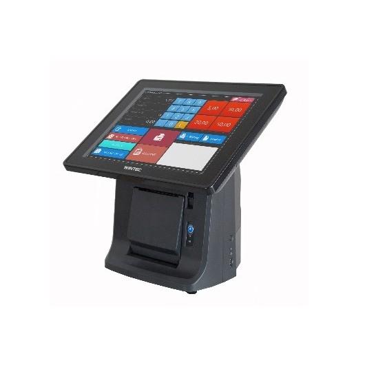 "Caja registradora con impresora, WINDOWS(POSSystems), WINTEC 15"", incl. 80mm printer, AP115-W7P-60/2"