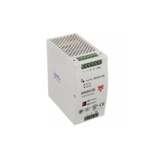 Fuente alimentación carril DIN 24 VDC,120W, 5A, SPD241201