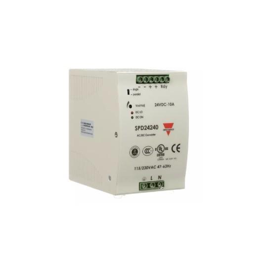 Fuente alimentación carril DIN 24 VDC,240W, 10A, SPD242401