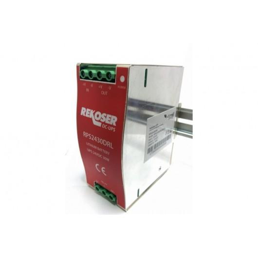 RPS2430DRL SAI corriente continua carril DIN 24VDC 30W batería de litio interna