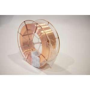 Bobina de hilo de hierro Ø1,0mm para soldadura ER70S-6 bobina de 15kg