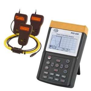 Analizador de potencia y armónicos PCE-830-3
