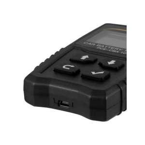 Comprobador de tensión para baterías de coche PCE-CBA 10