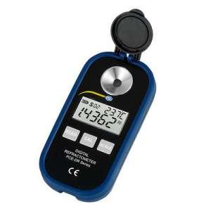 Refractómetro digital PCE-DRW 2 para el vino