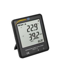 Logger de datos  de temperatura y humedad relativaPCE-HT 112