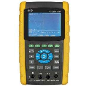 Medidor de potencia y armónicos PCE-PA 8300-1