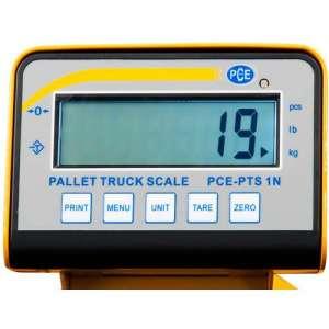 Transpaleta pesadora PCE-PTS 1N