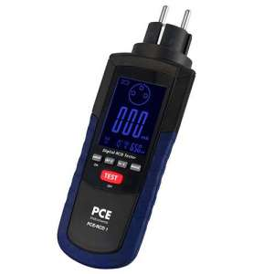 Comprobador de instalaciones PCE-RCD 1