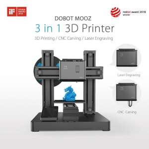 MOOZ 1Z/2Z/FULL - Multifunctional Modular Metallic 3 in 1 3D Printer